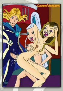 Cartoon Valley presents The Winx Porn