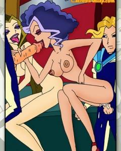 Hottest sex cartoon The Winx